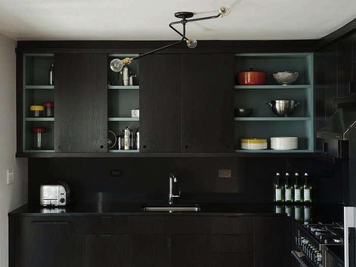 Black Kitchen 10 favorites: black kitchen backsplashes - remodelista