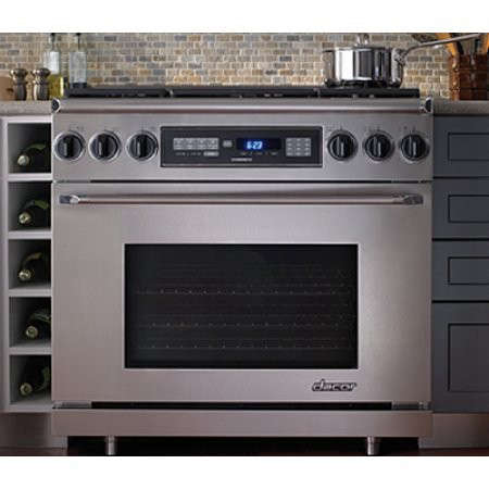Dacor Countertop Stove : Dacor Discovery 36? ER36D Free-Standing Dual-Fuel Stainless Steel ...