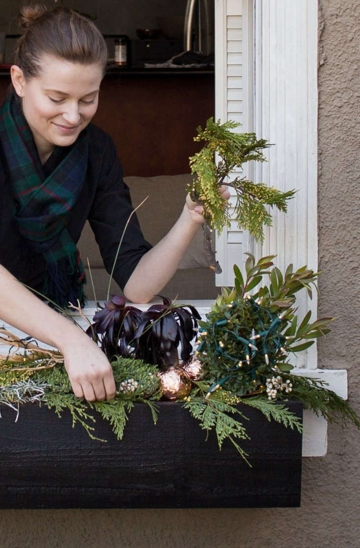Decorating%20Holiday%20Window%20Boxes%20with%20Cedar%20and%20Succulents%2C%20Meredith%20Swinehart%2C%20Gardenista