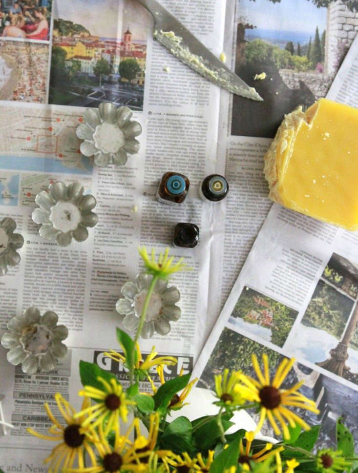 insect-repellent-tea-lights-supplies-overhead-erin-boyle-gardenista