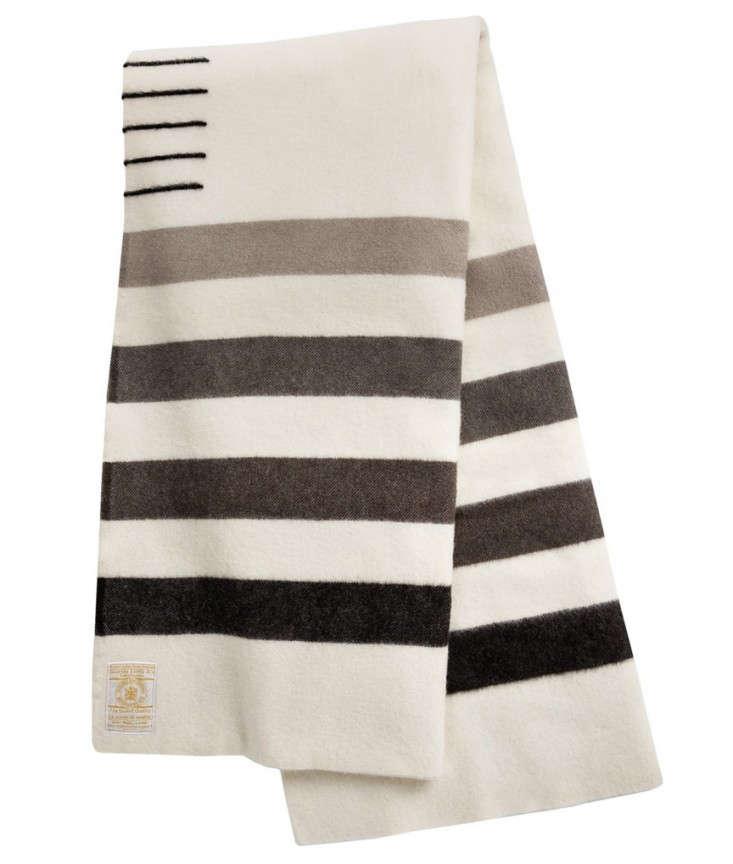 hudsons-bay-blanket-grey-woolrich-Remodelista