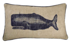 Thomas Paul Seafarer Moby Jute Pillow