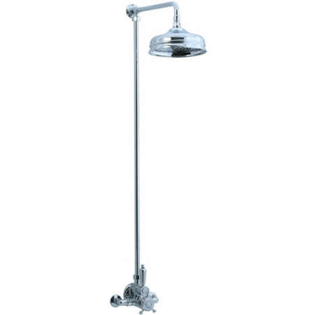 Good Above: Cifial Exposed Shower Kit With 8 Inch Showerhead; $1,570 At EFaucets.