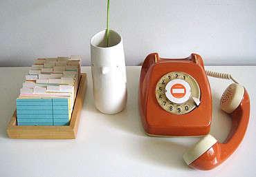 60s_orange_rotary_phone_1
