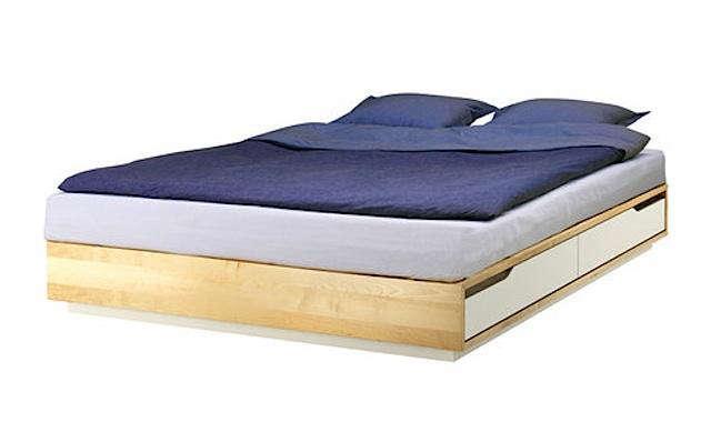 mandal bed frame remodelista. Black Bedroom Furniture Sets. Home Design Ideas
