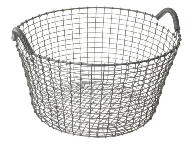 Handmade baskets portland or : Korbo handmade wire baskets remodelista