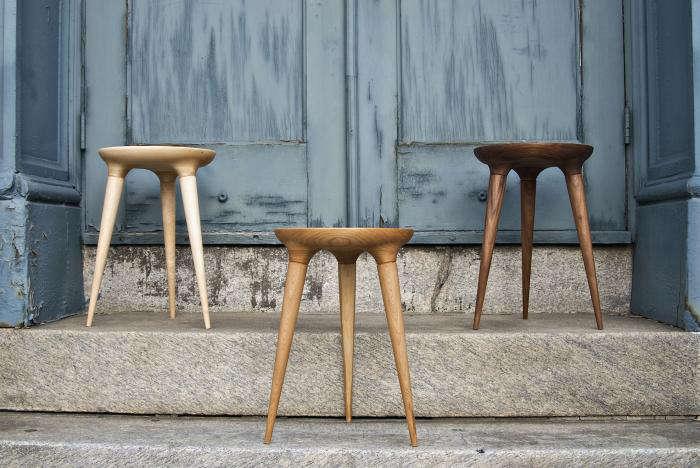 Paint Wooden Stool Building Supplies