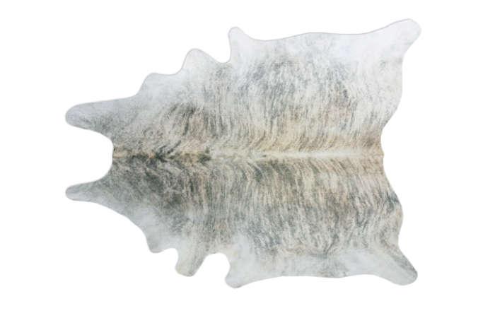 700_grey-leather-hide-gradient brindle cowhide rugs