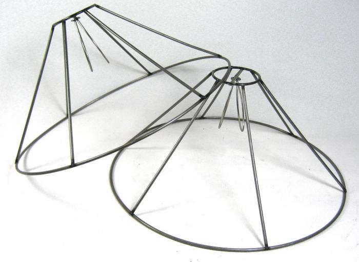 lamp shade wire frame remodelista. Black Bedroom Furniture Sets. Home Design Ideas