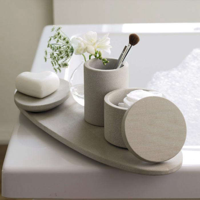 Sandstone Oval Tray Remodelista