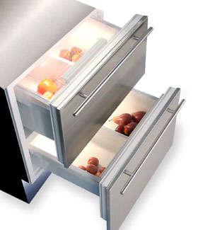 Sub Zero Integrated Undercounter All In One Refrigerator