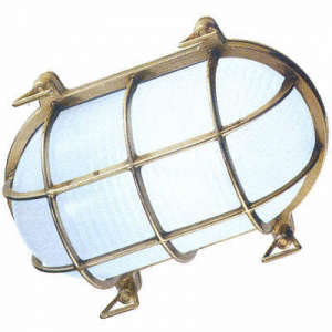 Tartaruga Oval Outdoor Bulkhead Light