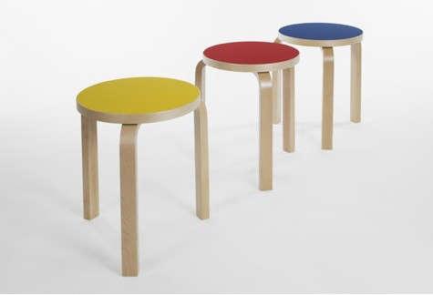 artek-stool-yellow-red-blue