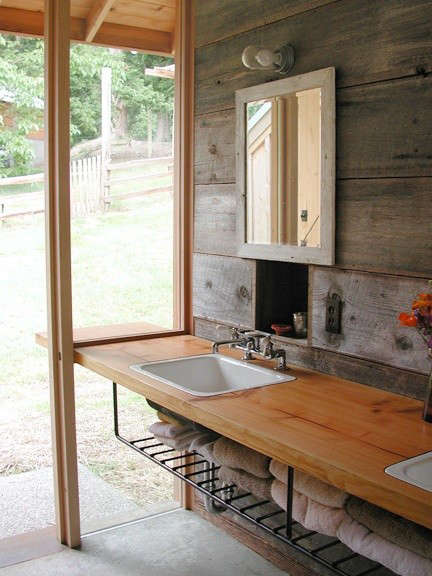 Architect Visit Shed Architects Whidbey Island Barn: bath barn
