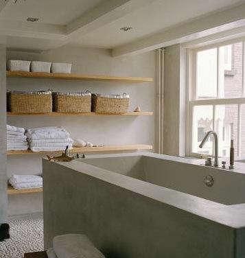 Bath Open Shelving Remodelista