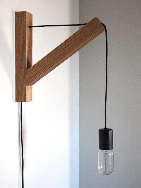 bracket wall sconce dino sanchez buy 365 00 product bracket wall. Black Bedroom Furniture Sets. Home Design Ideas