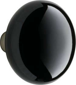 black-porcelain-door-knob