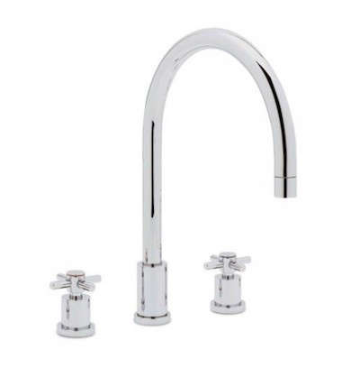 Blanco Two Handle Widespread Kitchen Faucet