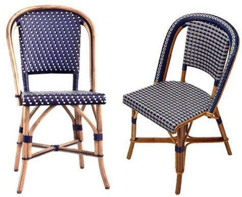 Brasserie Rattan Chair Remodelista