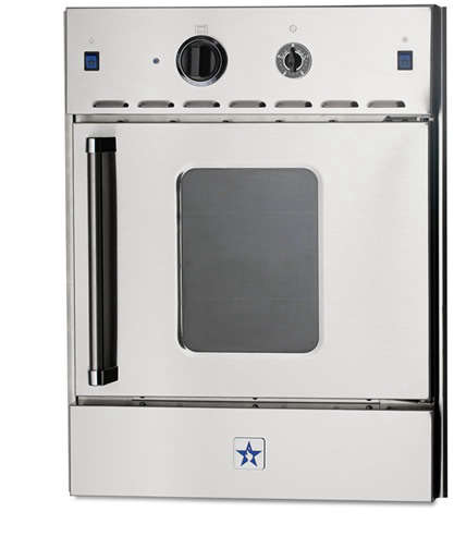 bluestar 24 quot single gas wall oven range remodelista
