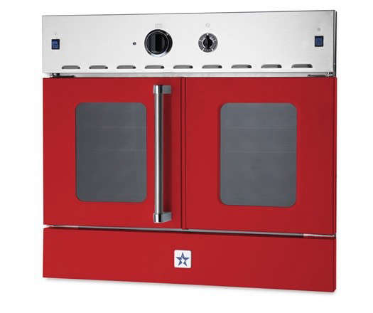 bluestar-wall-oven-red