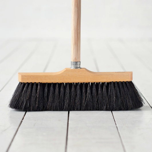 The Laundress Horse Hair Broom Remodelista