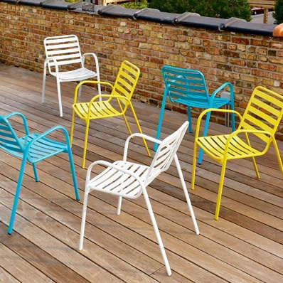 Outdoors Cafe Chairs from CB2  Remodelista