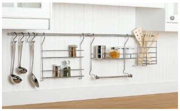 Kitchen Organizer Rail System Remodelista