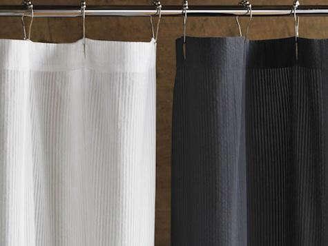 Seersucker Shower Curtain Remodelista