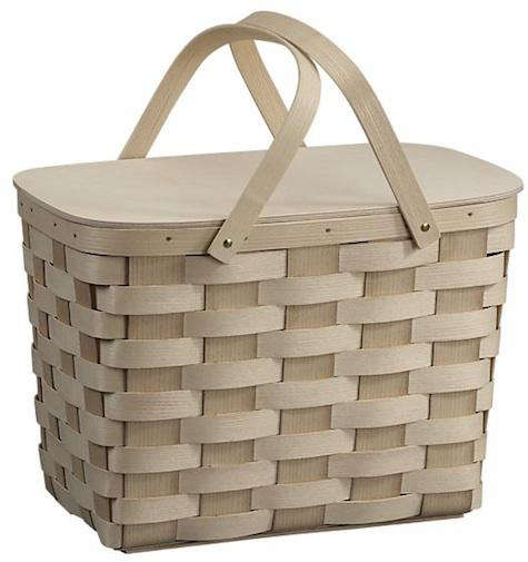 Woven Basket Building : Woven picnic basket remodelista