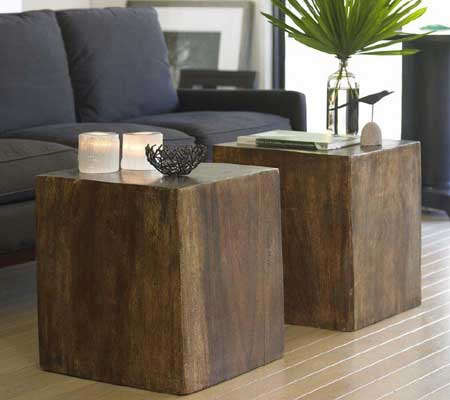 Furniture Viva Terra Wood Cube Remodelista