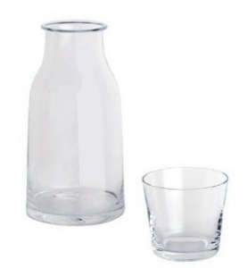David Chipperfield Tonale Carafe and Glass