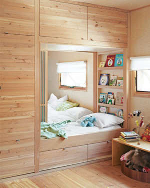 Great Childrenu0027s Rooms: Built In Beds And Bunks