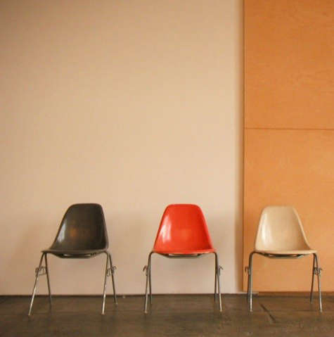 Furniture chairs of different colors remodelista for Different color chairs