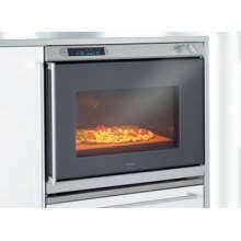 gaggenau 27 inch wall oven w swing door remodelista. Black Bedroom Furniture Sets. Home Design Ideas