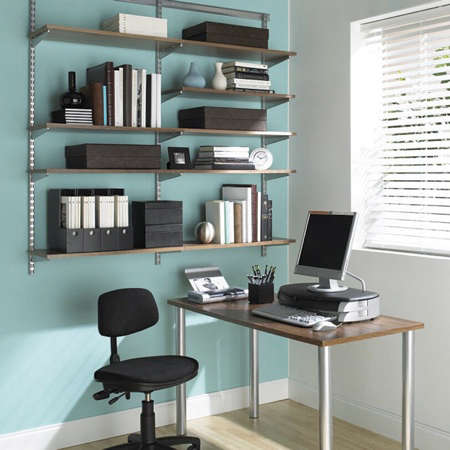 Elfa Office Desk Remodelista