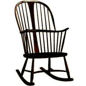 Chairmakers Rocking Chair: Remodelista