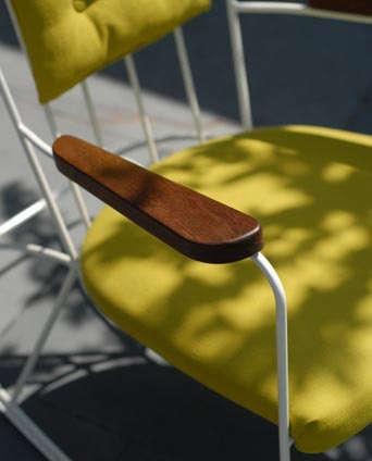 metal rocking chair remodelista. Black Bedroom Furniture Sets. Home Design Ideas