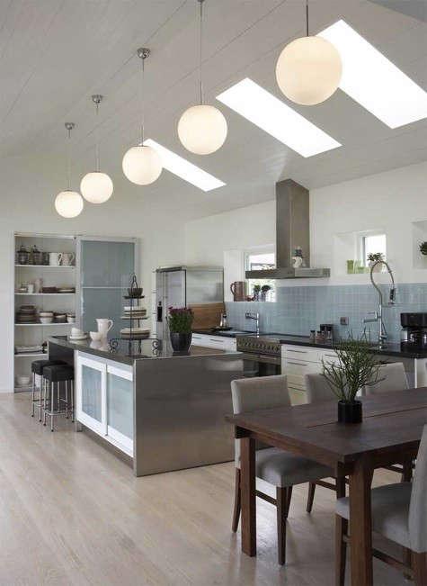 five-globe-light-kitchen
