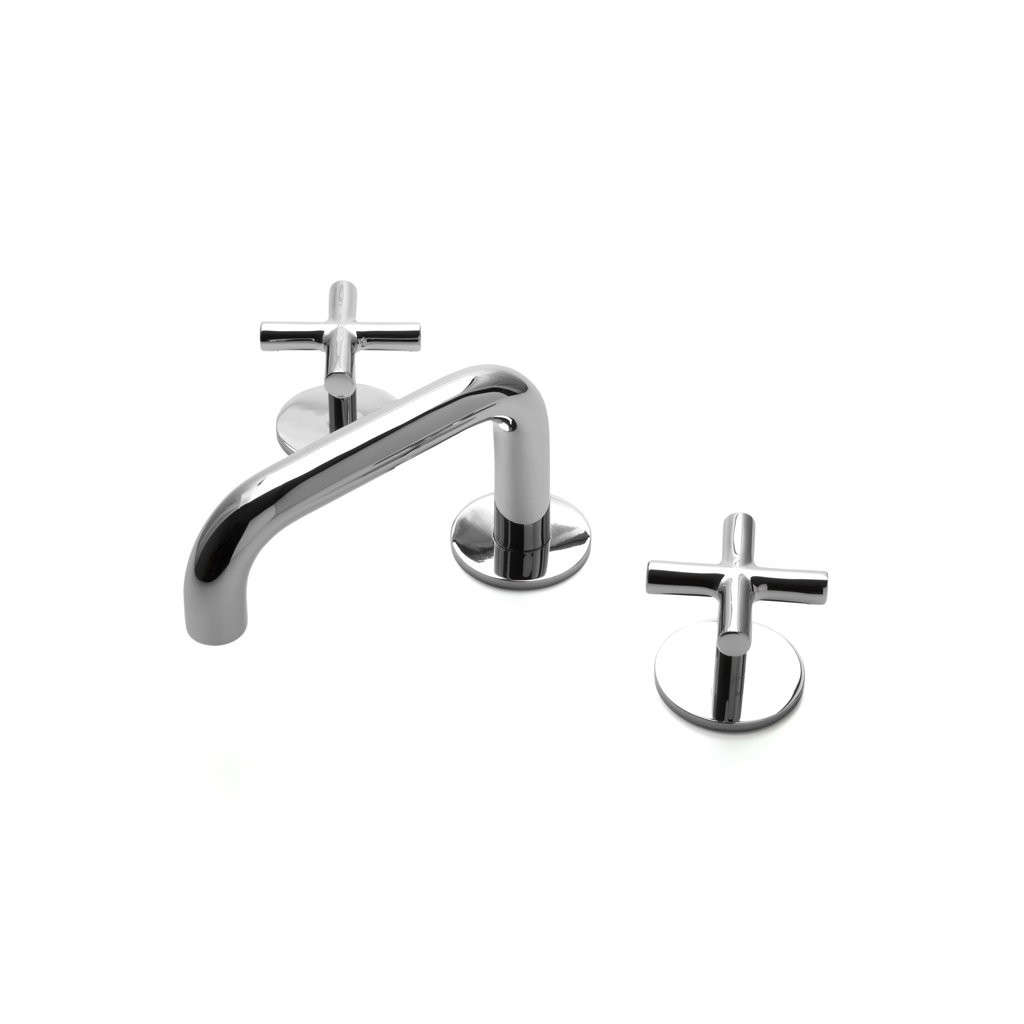 low profile kitchen faucet flyte low profile three hole deck mounted faucet remodelista 1138