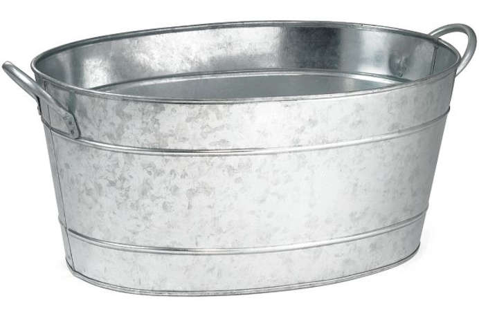 Galvanized Oval Wash Tub Remodelista
