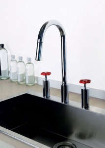 Oxygene Hi Tech Faucet from Italian company Gessi on Remodelista.com