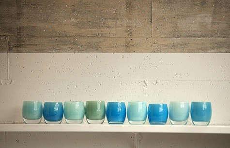 glassybaby-blue-shelf