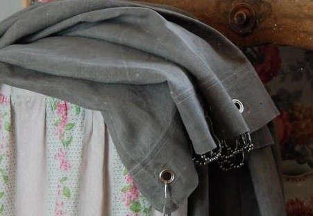 gray-couleur-chanvre-curtain