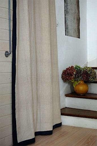 hemp-with-black-border-curtain