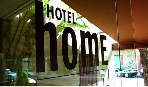 hotel-home-sign