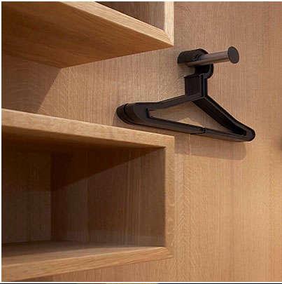 Storage Minimalist Closet portrait 3