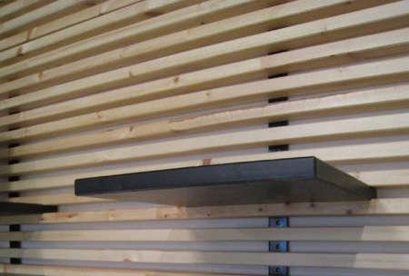 mandal wall mounted headboard remodelista. Black Bedroom Furniture Sets. Home Design Ideas