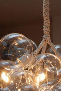 Bubble Chandelier Detail 1