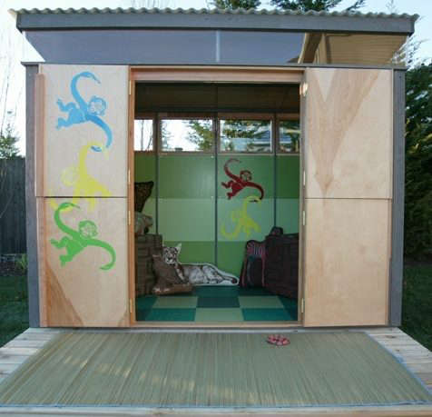 jungle-playshed